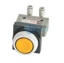 SMC VM13 Valve With Yellow Push Button Switch