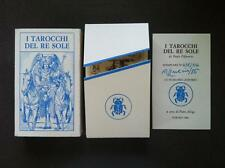 Tarot Of The Sun King / I Tarocchi Del Re Sole Limited Edition Rare Out Of Print