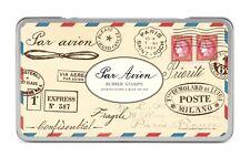 Cavallini Rubber Stamps (Par Avion) Assorted Vintage Postal Marks with Ink Pad