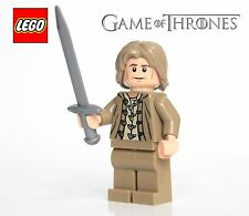 Lego GAME OF THRONES Custom JAIME LANNISTER Minifig w/ Weapons! Brand New! LOTR