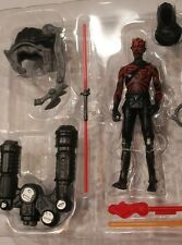 "HOODED Darth Maul REBELS animated Star Wars 3.75 inch"" LOOSE Sith 2 Pack cartoon"