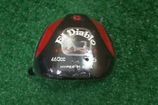 NEW KRANK GOLF EL DIABLO 460CC HYPER TI BETA 6* DRIVER HEAD ONLY .335 238241