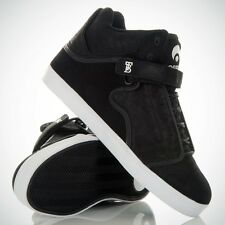 OSIRIS SHOES BINGAMAN VLC BLACK BLACK WAX TRAINERS (UK 7 EUR 40.5)