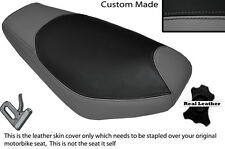 GREY & BLACK CUSTOM FITS KEEWAY MATRIX 50 06-08 DUAL LEATHER SEAT COVER