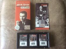 Artie Shaw and his Orchestra: The King of Clarinet 3 Cassette Box Set