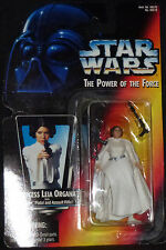 Star Wars  PRINCESS LEIA ORGANA 1995  Power of the Force POTF MOC Kenner Hasbro