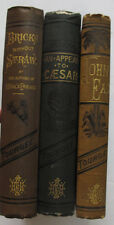 Lot 3 Ohio Author Albion Tourgee John Eax Bricks Without Straw Appeal to Caeser