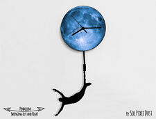 Boy Jumping from the moon - Pendulum Wall Clock