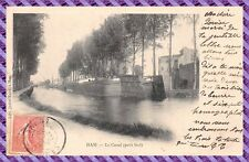 Tarjeta postal - HAM - el canal (pequeño graneros)