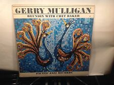 CHET BAKER - Reunion with Gerry Mulligan ~ PACIFIC JAZZ 47 w/Henry Grimes - RARE