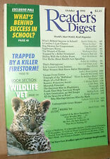 READER'S DIGEST 1994 OCTOBER COWBOY;SCHOOL;PROZAC;FIRESTORM;WILDLIFE VET;WAVES