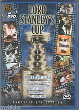 DVD - LORD STANLEY'S CUP - Hosted by Denis Leary HOCKEY'S ULTIMATE PRIZE - VG+