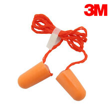 3M 1110 Corded Disposable Foam Ear Plugs (NRR 29) Individually Packaged 100/Bx