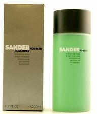 (GRUNDPREIS 24,95€/100ML) JIL SANDER FOR MEN 200ML BODY HAIR SHAMPOO GEL DOUCHE