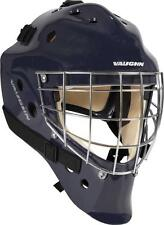Vaughn 7700 ice hockey goalie helmet navy senior large goal face mask blue new