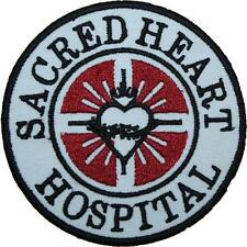 Scrubs Sacred Heart Hospital Badge Embroidered Patch 9cm