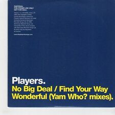 (GF926) Players, No Big Deal - 2006 DJ CD