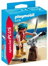 5378 Pirata con cañon de posición playmobil,especial,special,pirate with cannon