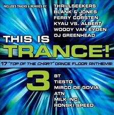 This is Trance, Vol. 3 by Various Artists (CD, Feb-2005, Water Music Records)