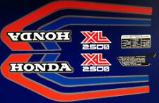 Honda XL250S restauración Decal Set Púrpura