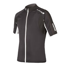 NEW Endura FS260 Pro Jersey II Men's X-Large Black Short Sleeve Road Cycling