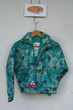 Childrens ski jacket. Green. Age 7to8 years. Manbi 'Planet'