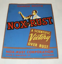 VINTAGE NOX-RUST CORPORATION TECHNICAL BULLETIN CHICAGO