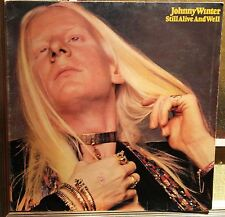 Johnny Winter-Still Alive And Well Lp 1° italian Issue 1973