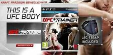 PS3 Game UFC Personal Trainer incl. Leg strap MOVE New