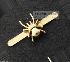 10pcs Gold Spider Gothic Insect Studs Nailheads Animal Wild Leather Prong S330