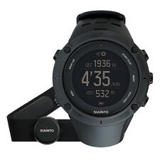 Suunto Ambit3 Peak Black HR GPS Multisport Triathlon Watch with HRM SS020674000
