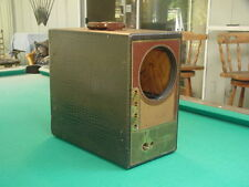 "Vintage 1940's Raytheon A-7DX22P Portable 7"" TV for Parts or Restoration"