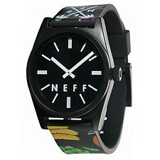 Neff Men's Hard Fruit Daily Wild Watch Black streetwear accessories wristwatch