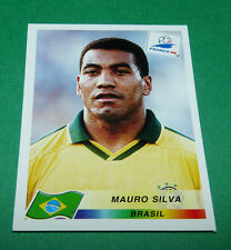 N°24 MAURO SILVA BRESIL BRASIL PANINI FOOTBALL FRANCE 98 1998 COUPE MONDE WM