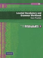 REALIDADES LEVELED VOCABULARY AND GRMR WORKBOOK (CORE & GUIDED          PRACTICE