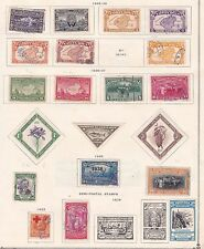 COSTA RICA ^^^^^^^1922-38 mint & used  collection  $$@ f8247xxbcosta
