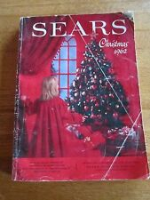 VINTAGE 1962 SEARS CHRISTMAS CATALOG TOYS SANTA TRAINS PEDAL CARS FREE SHIPPING