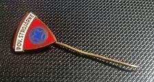 Manet Povazske Strojarne Anstecknadel emailliert 15x15mm Mofa alt+original