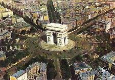 AK: En Avion sur Paris - L'arc de triomphe de l'Etoile