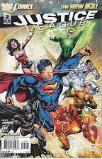 JUSTICE LEAGUE 2B...NM-...2011...New 52. Ivan Reiss Variant..Jim Lee...Bargain!