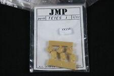 YX116 JMP 1/35 kit figurine diorama 35117 Tetes 1 tete head personnage