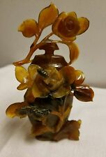 Fine Ornate Old Chinese Carved Jade Archaic Snuff Bottle