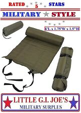 Military Self Inflate Sleeping Mat 6' Inflatable Camping Hiking Sleep Pad 4423