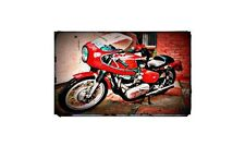 1961 Royal Enfield Constellation Bike Motorcycle A4 Retro Metal Sign Aluminium