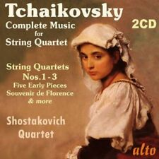 Tchaikovsky: Complete Music For String Q - Shostakovic (2013, CD NEUF)2 DISC SET