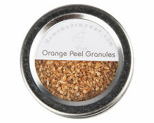 Orange Peel Granules 2.5 oz in Magnetic Spice Tin with Clear Top & Shaker Lid