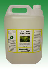 20 LITRES (4 x 5 LITRES) VEGETABLE GLYCERINE EP/USP FOOD/COSMETIC GRADE