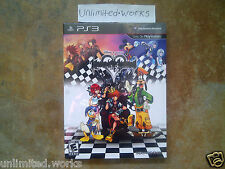 Kingdom Hearts HD 1.5 Remix Limited Collector's Edition + Art Book PS3 Brand New