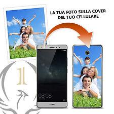 CUSTODIA COVER CASE TPU PERSONALIZZATA SELFIE FOTO PER HUAWEI MATE S