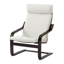 Ikea Poang Chair Only Black Brown New (Cushion Not Included)